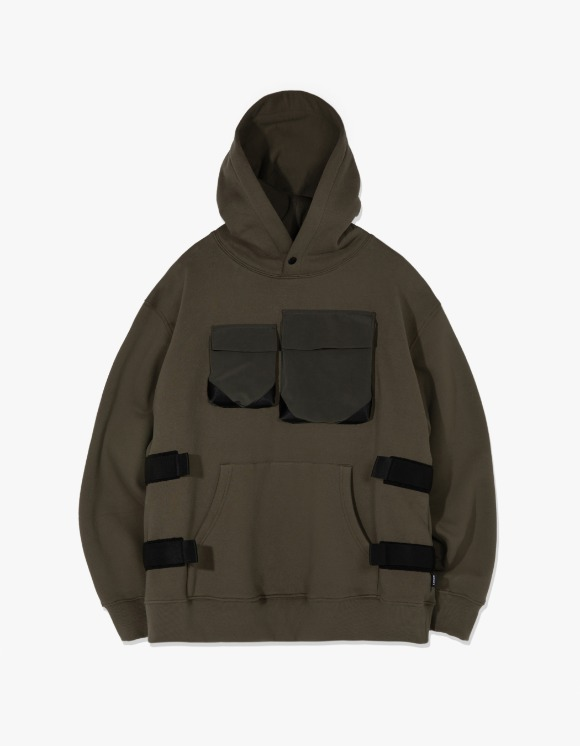 LORES Tactical Pullover Hoodie - Olive | HEIGHTS. | International Store