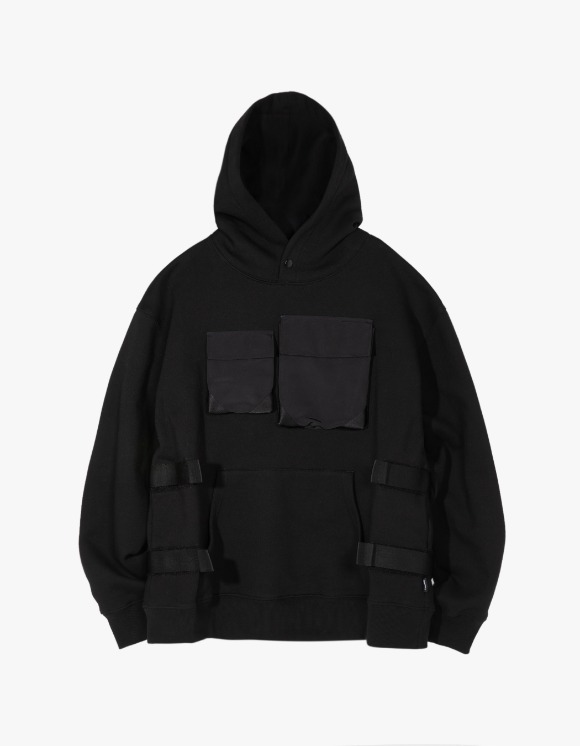 LORES Tactical Pullover Hoodie - Black | HEIGHTS. | International Store