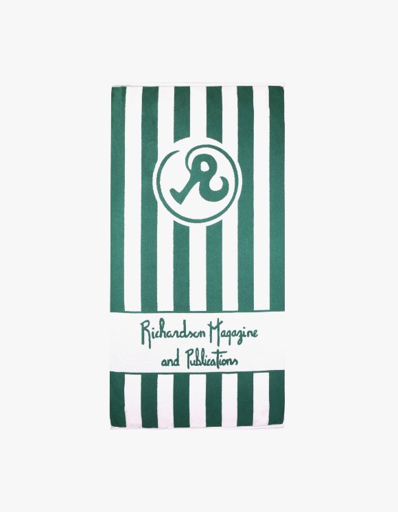 Richardson Richardson Magazine Towel - Green | HEIGHTS. | International Store