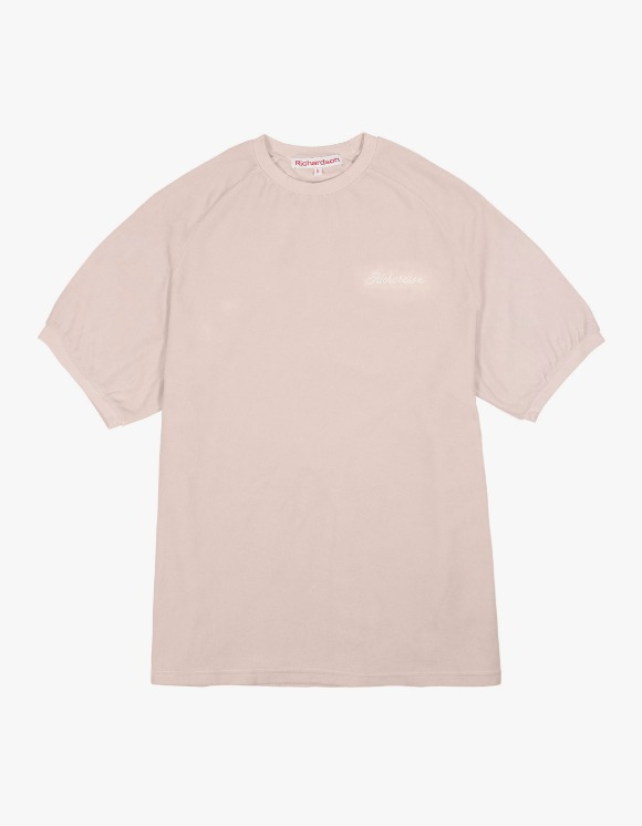Richardson Velour Tee - Beige | HEIGHTS. | International Store