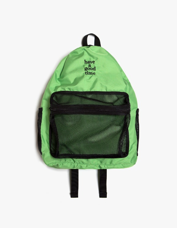 have a good time Logo Day Pack - Green | HEIGHTS. | International Store