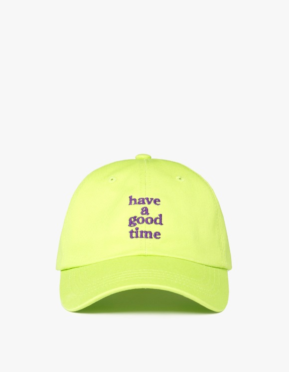 have a good time Embroidered Logo 6 Panel Cap - Melon Soda | HEIGHTS. | International Store