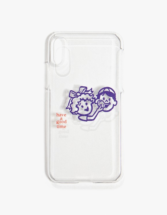 have a good time Enjoy Logo iPhone Case X/XS - Clear | HEIGHTS. | International Store