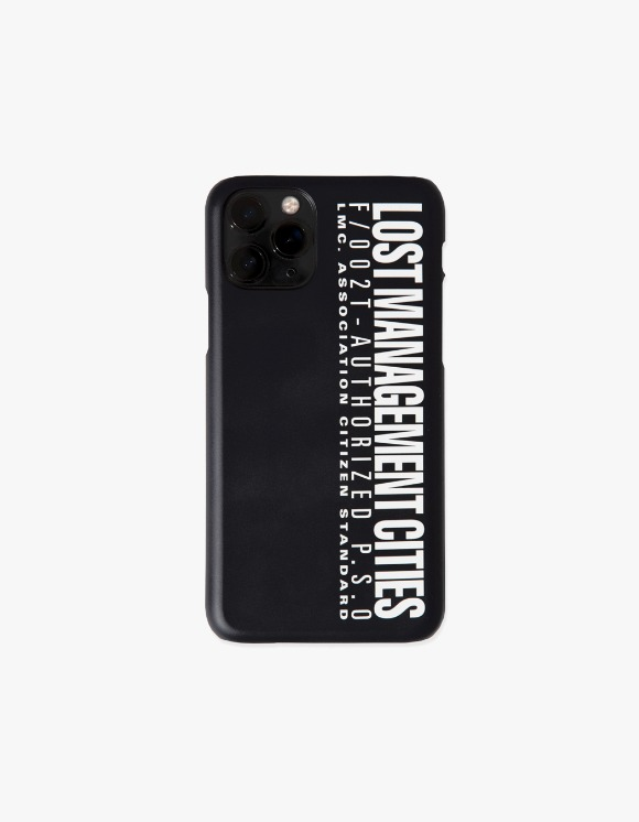 LMC LMC AUTHORIZED LOGO IPHONE 11 PRO HARD CASE black | HEIGHTS. | International Store