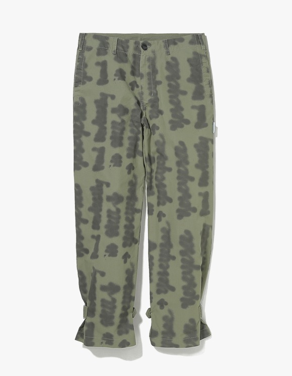 yeseyesee Doodled Strap Pants - Olive | HEIGHTS. | International Store