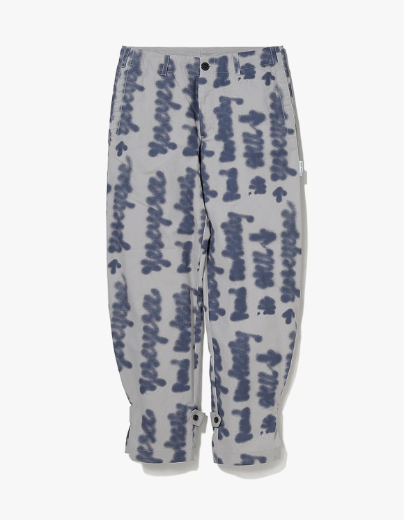 yeseyesee Doodled Strap Pants - Grey | HEIGHTS. | International Store