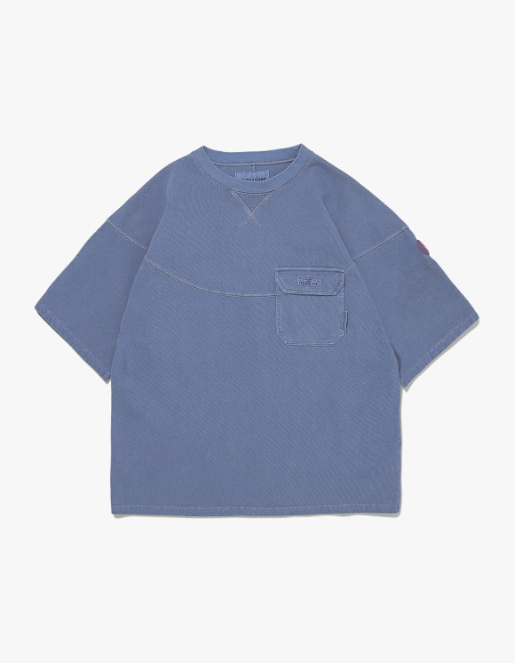 yeseyesee Wide 3 Panel Tee - Navy | HEIGHTS. | International Store