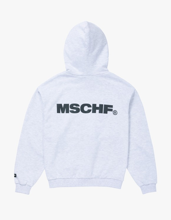 MISCHIEF Slogan Hoodie - White Melange | HEIGHTS. | International Store