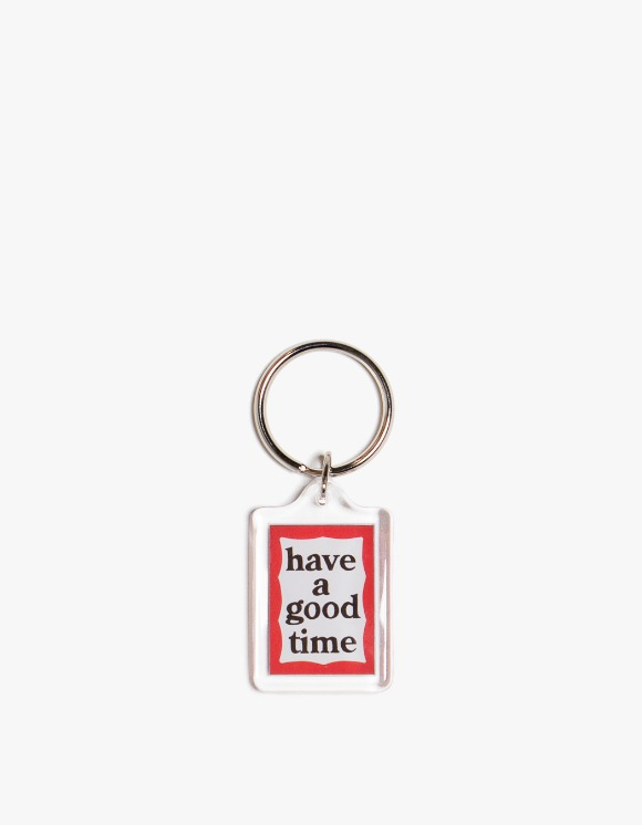 have a good time Red & Blue Frame Key Chain | HEIGHTS. | International Store
