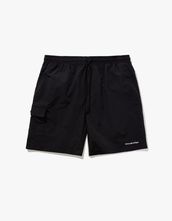 have a good time Aqua Shorts - Black | HEIGHTS. | International Store