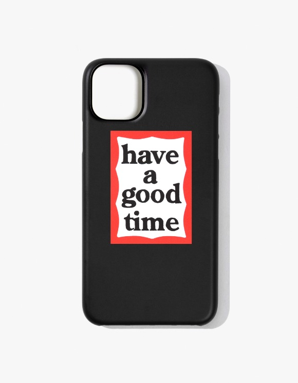 have a good time Frame iPhone Case 11 - Black | HEIGHTS. | International Store