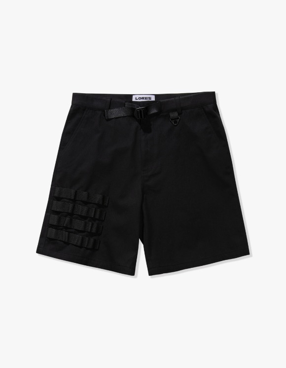 LORES Molle Shorts - Black | HEIGHTS. | International Store
