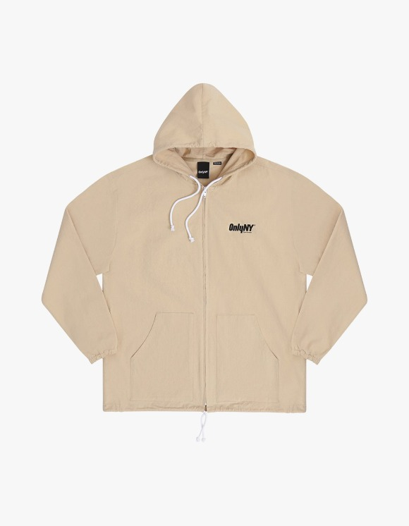 Only NY Court Logo Hooded Windbreaker - Beach | HEIGHTS. | International Store
