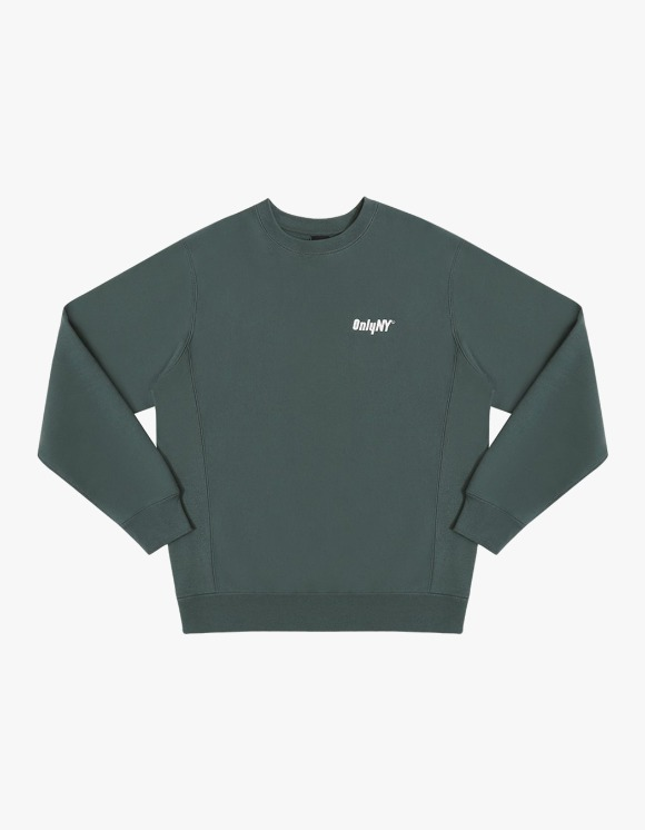 Only NY Court Logo Crewneck - Green | HEIGHTS. | International Store