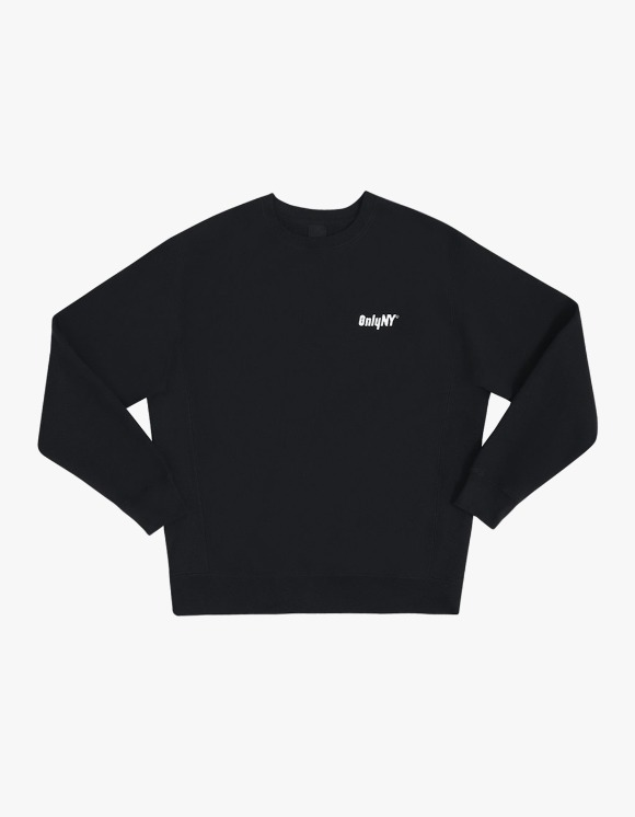 Only NY Court Logo Crewneck - Black | HEIGHTS. | International Store
