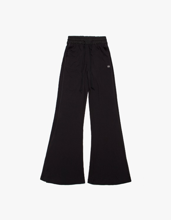 KIJUN Flared Lounge Pants - Black | HEIGHTS. | International Store
