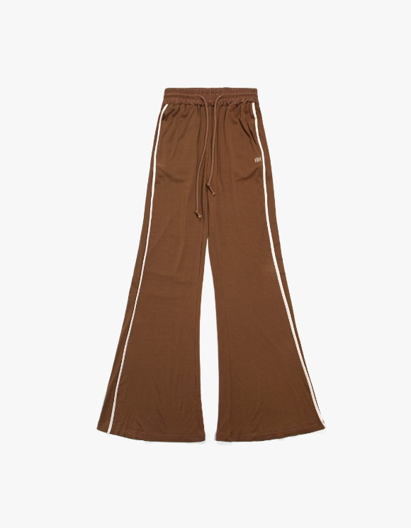 KIJUN Flared Lounge Pants - Brown | HEIGHTS. | International Store