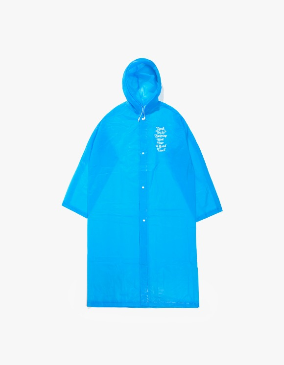 have a good time Thank you For Shopping Raincoat (Mini Bag Included) - Blue | HEIGHTS. | International Store