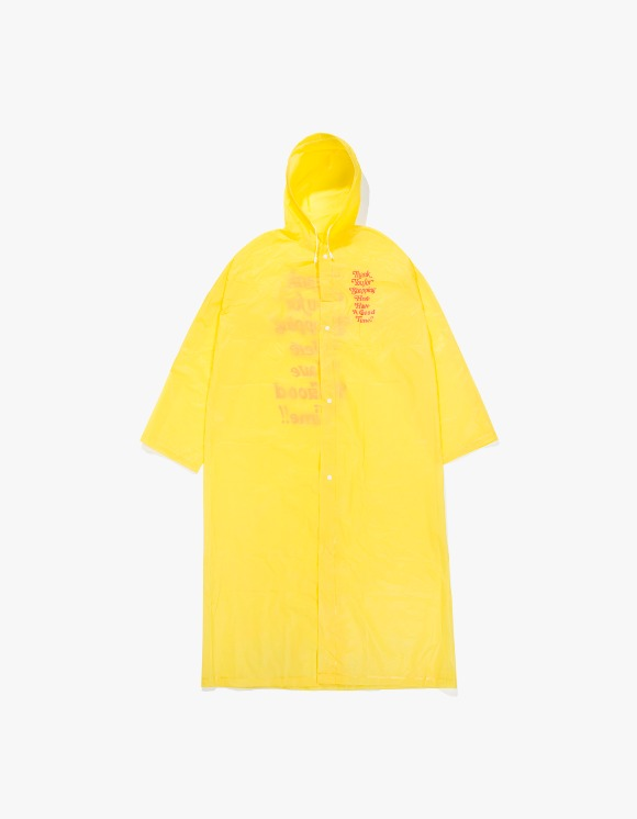 have a good time Thank you For Shopping Raincoat (Mini Bag Included) - Yellow | HEIGHTS. | International Store