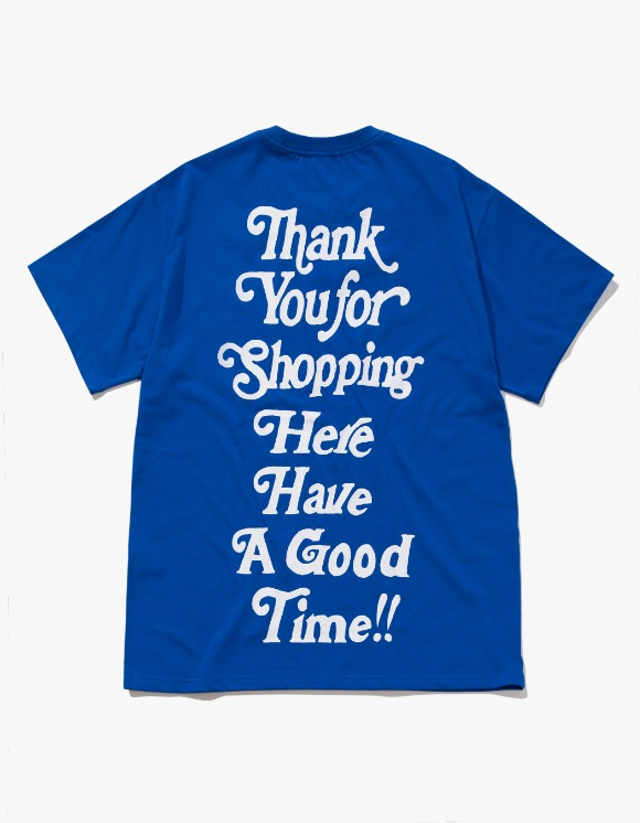 have a good time Thank you for Shopping S/S Tee - Cobalt Blue | HEIGHTS. | International Store
