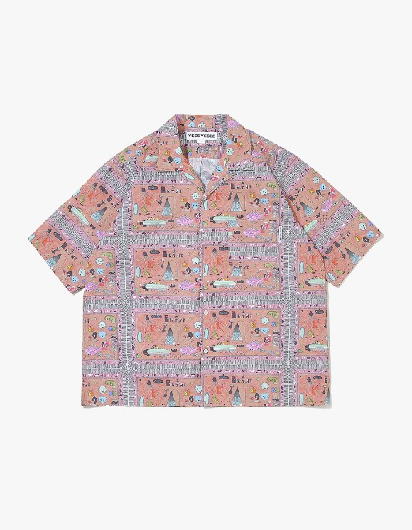 yeseyesee Juwonman Aloha Shirts - Carpet | HEIGHTS. | International Store