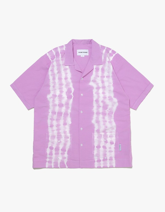 yeseyesee Tie Dyed Aloha Shirts - Lilac | HEIGHTS. | International Store