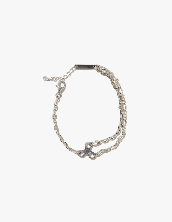Kruchi lab Chain 3 Bracelet - Silver | HEIGHTS. | International Store