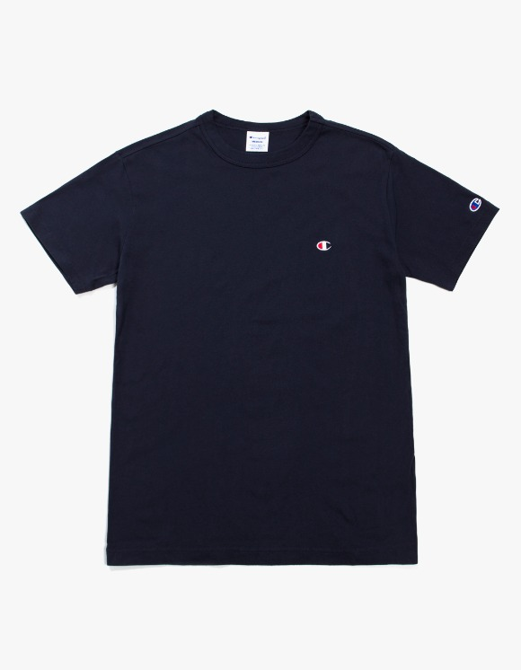 Champion Champion Basic S/S Tee - Navy | HEIGHTS. | International Store
