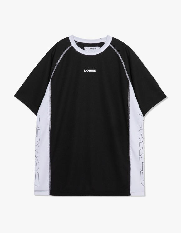 LORES Logo S/S Jersey - Black | HEIGHTS. | International Store