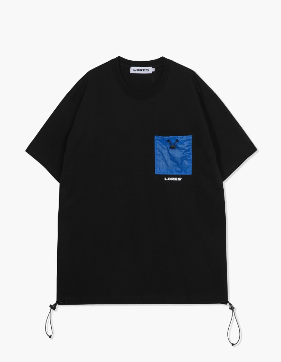 LORES Pocket S/S Tee - Black | HEIGHTS. | International Store