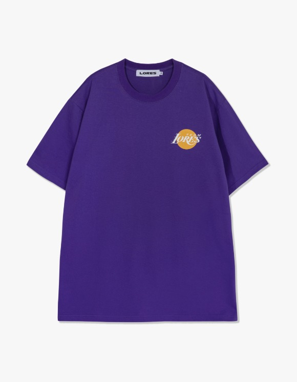 LORES LORES Team S/S Tee - Purple | HEIGHTS. | International Store