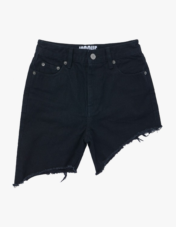 MISCHIEF Unbalanced Shorts - Black | HEIGHTS. | International Store