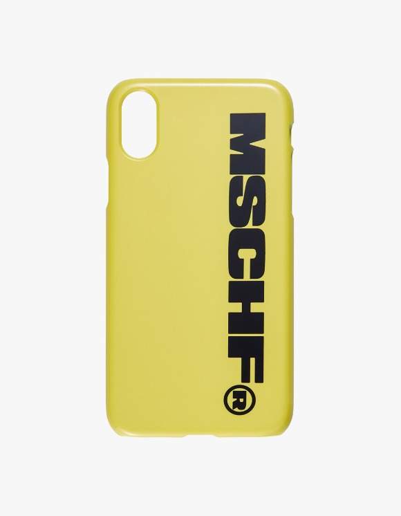 MISCHIEF MSCHF iPhone Case - Yellow/Black | HEIGHTS. | International Store
