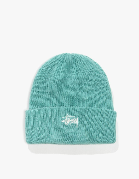 Stussy Basic Cuff Beanie - Mint | HEIGHTS. | International Store
