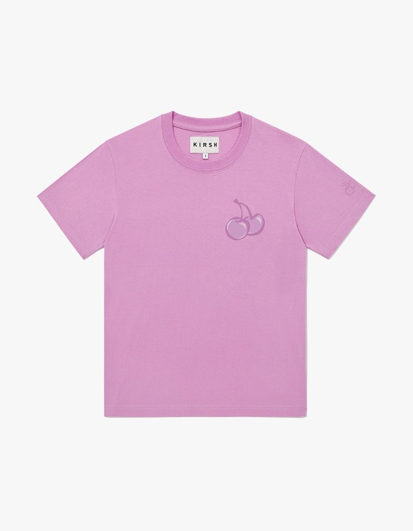 KIRSH TONE ON TONE MIDDLE CHERRY T-SHIRT JH - Pink | HEIGHTS. | International Store