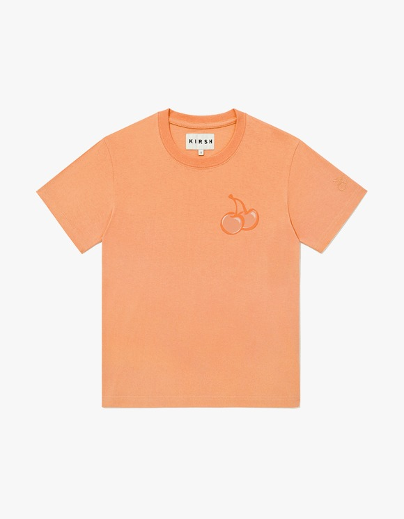 KIRSH TONE ON TONE MIDDLE CHERRY T-SHIRT JH - Orange | HEIGHTS. | International Store