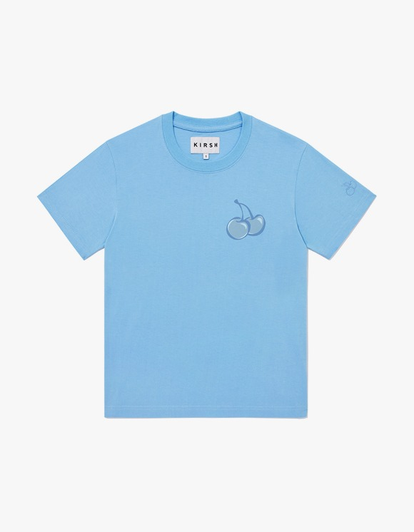 KIRSH TONE ON TONE MIDDLE CHERRY T-SHIRT JH - Light Blue | HEIGHTS. | International Store
