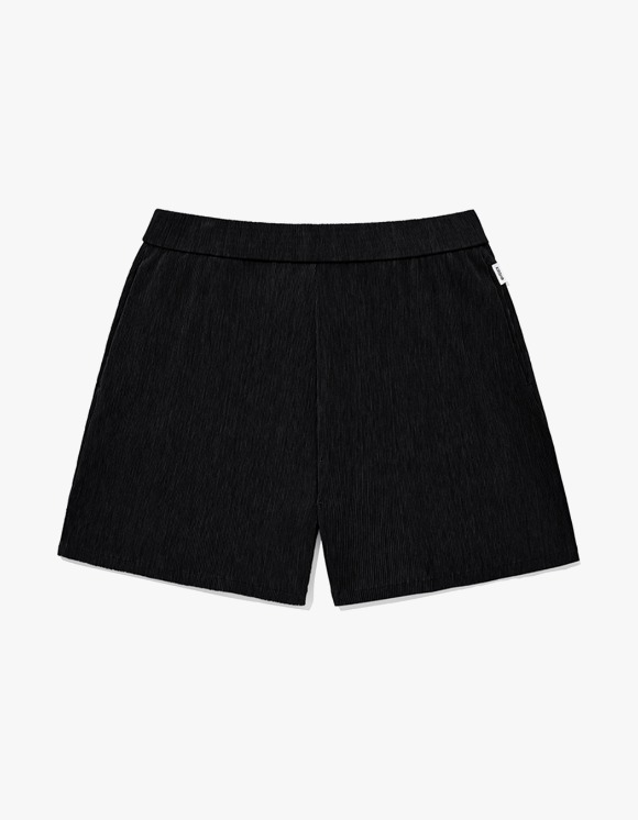 KIRSH KIRSH WRINKLE SHORT PANTS JH - Black | HEIGHTS. | International Store
