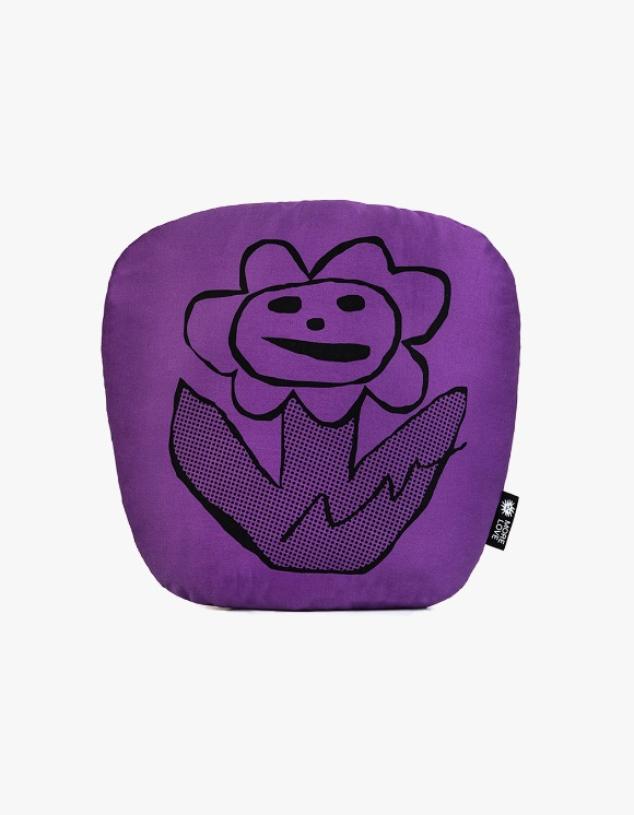 Balansa X More Love By Kentaro Flower Cushion - Purple | HEIGHTS. | International Store