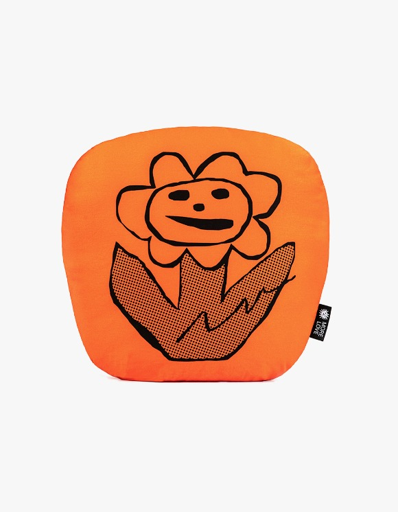 Balansa X More Love By Kentaro Flower Cushion - Orange | HEIGHTS. | International Store