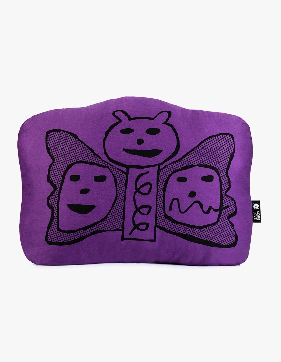 Balansa X More Love By Kentaro Butterfly Cushion - Purple | HEIGHTS. | International Store