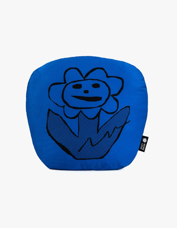 Balansa X More Love By Kentaro Flower Cushion - Blue | HEIGHTS. | International Store