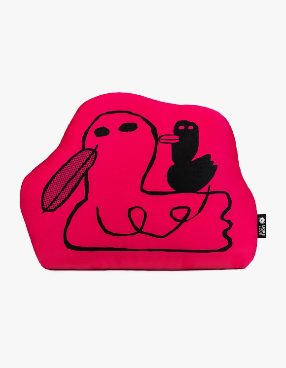 Balansa X More Love By Kentaro Duck Cushion - Red | HEIGHTS. | International Store
