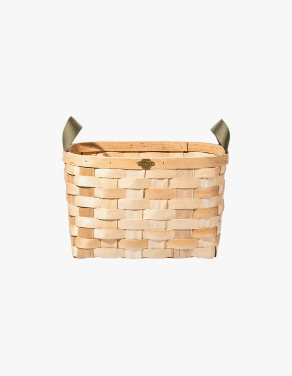 PUEBCO INC. Wooden Rectangle Basket - Natural | HEIGHTS. | International Store