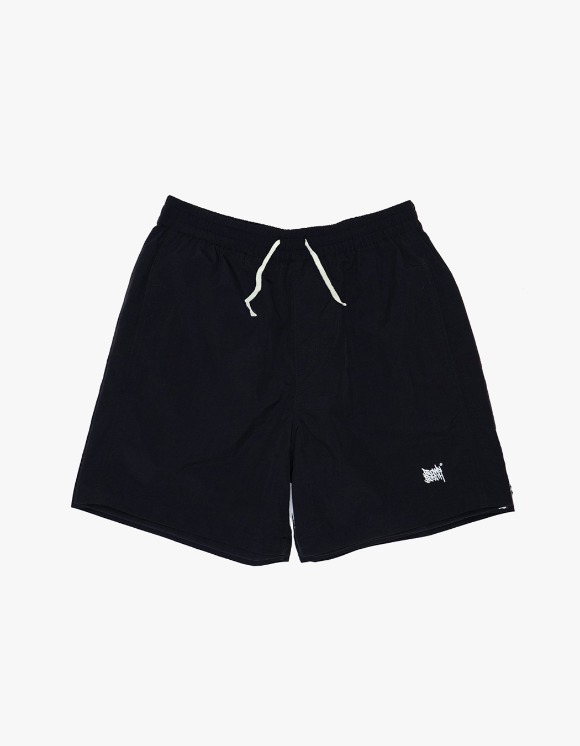 BROWNBREATH Tag Short Pants - Black | HEIGHTS. | International Store