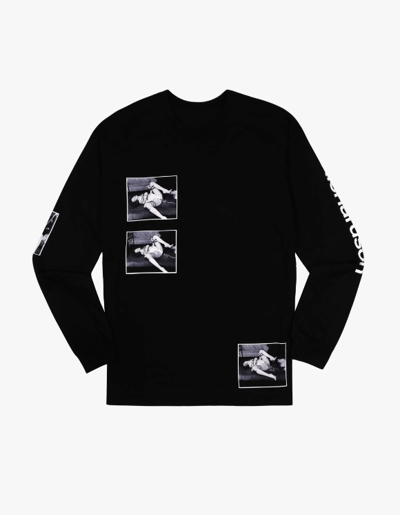 Richardson A7 Araki L/S Tee - Black | HEIGHTS. | International Store