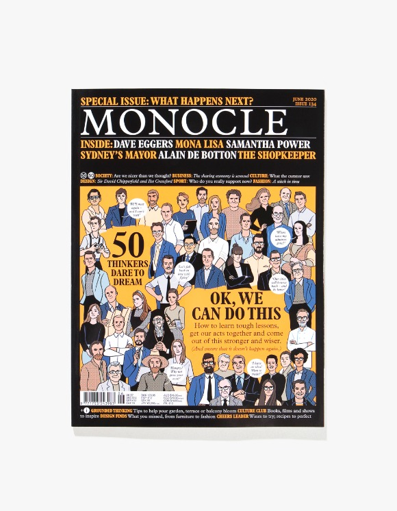 Monocle Monocle Magazine - Issue 134 | HEIGHTS. | International Store