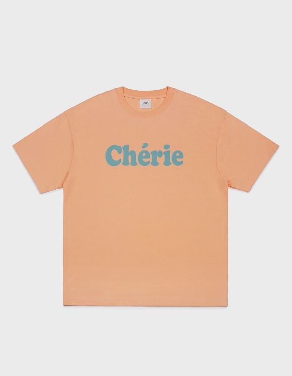 CLIF Cherie Tee - Coral | HEIGHTS. | International Store