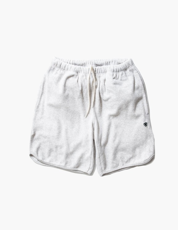 Heritage Floss HFC Crest Towel Shorts - M.Grey 1% | HEIGHTS. | International Store