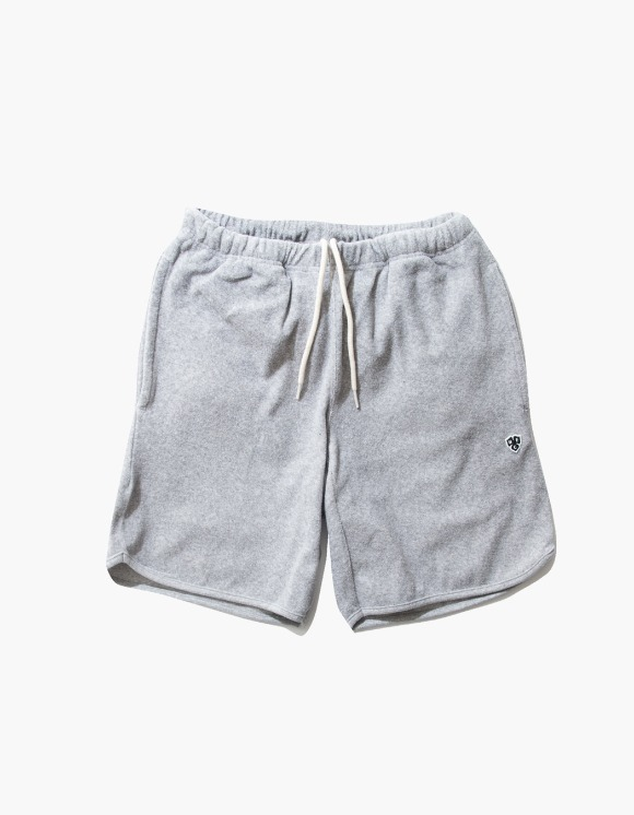 Heritage Floss HFC Crest Towel Shorts - M.Grey 5% | HEIGHTS. | International Store